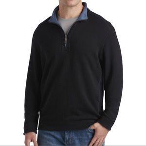 Tommy Bahama Men's Flipshore Full-Zip Reversible Jacket Size Large Blue